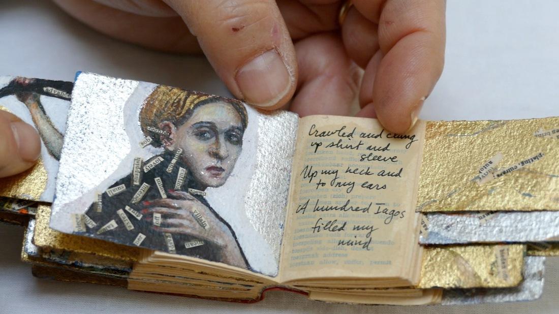 Artist book tiny still